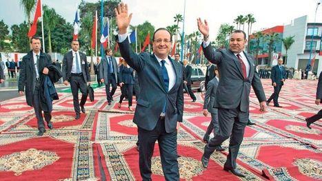 Hollande soigne sa relation avec le roi du Maroc | Communication de crise & gestion des risques | Scoop.it