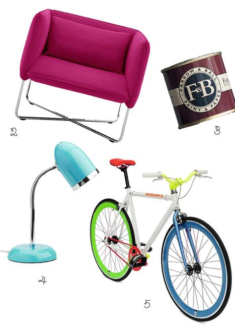 Happy Interior Blog: 5 Happy Inspirations: Take A (Colorful) Break   Déco Design   Scoop.it