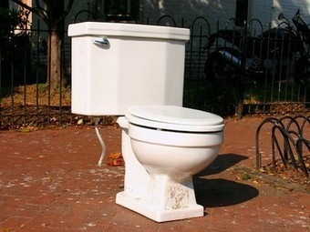 City Makes Sidewalk From Hundreds of Old Toilets | Vertical Farm - Food Factory | Scoop.it