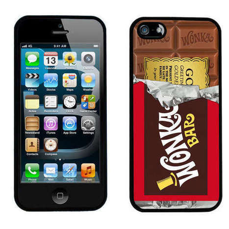 Cinematic Candy Phone Cases - Case Envy Has Created This Iconic Chocolate Bar Designer iPhone Case (TrendHunter.com) | Girlfriends' Hub | Scoop.it