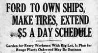 Henry Ford's $5-a-Day Revolution - Press Release | _Ford-Motor-Company_by AMM | Scoop.it