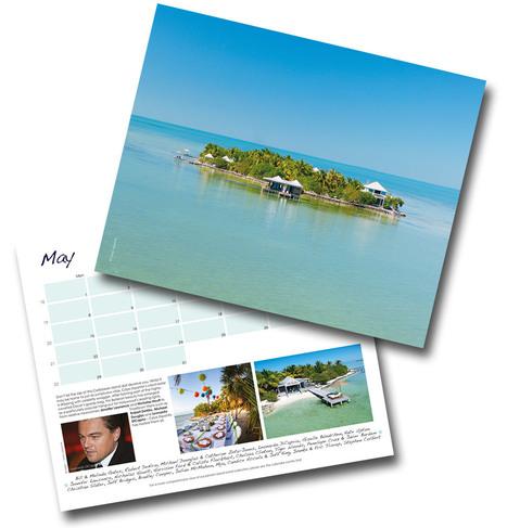Vladi Private Islands Calendar 2017 – Celebrities on Islands (Limited Edition) | Vladi Private Islands and Private Island News | Scoop.it