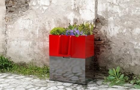 Un urinoir de rue qui fait pousser des fleurs   IDEES BUSINESS   Scoop.it
