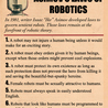 Robots, Computers and Science