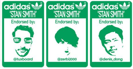 Adidas imagine une superbe opération sur Twitter pour le retour des StanSmith | Piwee | Growth hacking & Social Marketing | Scoop.it