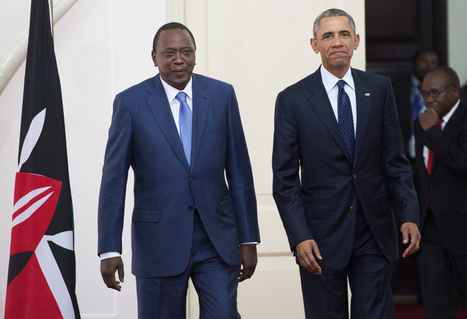 Homecoming: Obama Brings $1 Billion in Investments To Kenya, Reunites With Half-Sister Auma Obama | Community Village Daily | Scoop.it