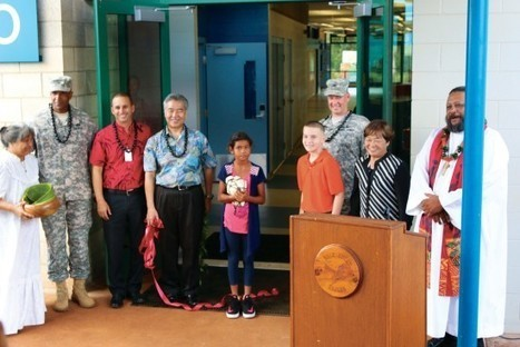 New Hale Kula school building reflects partnerships : Hawaii Army Weekly | Daniel K. Inouye (Hale Kula) Elementary School - Where Eagles Soar | Scoop.it