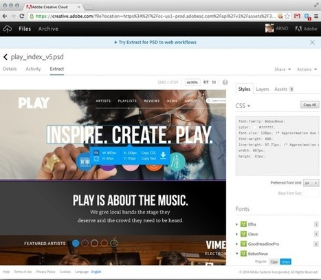 Adobe builds on Creative Cloud strategy to unify desktop, mobile and cloud ...   Library Innovation   Scoop.it