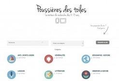 Poussières des toiles : un nouveau moteur de recherche adapté aux 8-13 ans - L'École branchée | Ressources pour la Technologie au College | Scoop.it