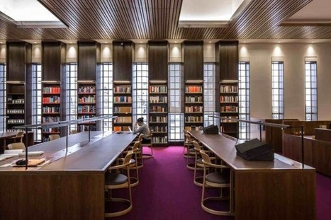 Iconic Library Embraces Digital Era - Harvard Magazine | Libraries & Archives 101 | Scoop.it