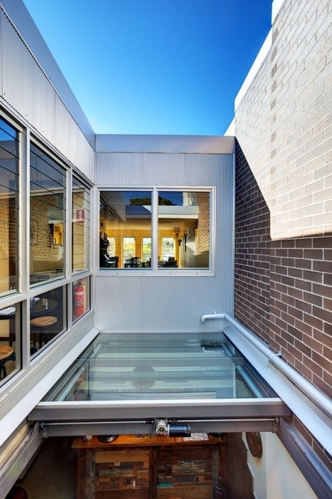 Glass Roof Providing Access to Roof Top Terrace | Kennovations | Scoop.it