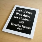 List of Free iPad Apps for children with Special Needs: Part 1 | iPad for Learning | Scoop.it