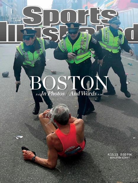 Post #5: LOOK: Sports Illustrated Unveils Cover Image For Boston Marathon Issue | Boston Marathon Bombings 2013 | Scoop.it