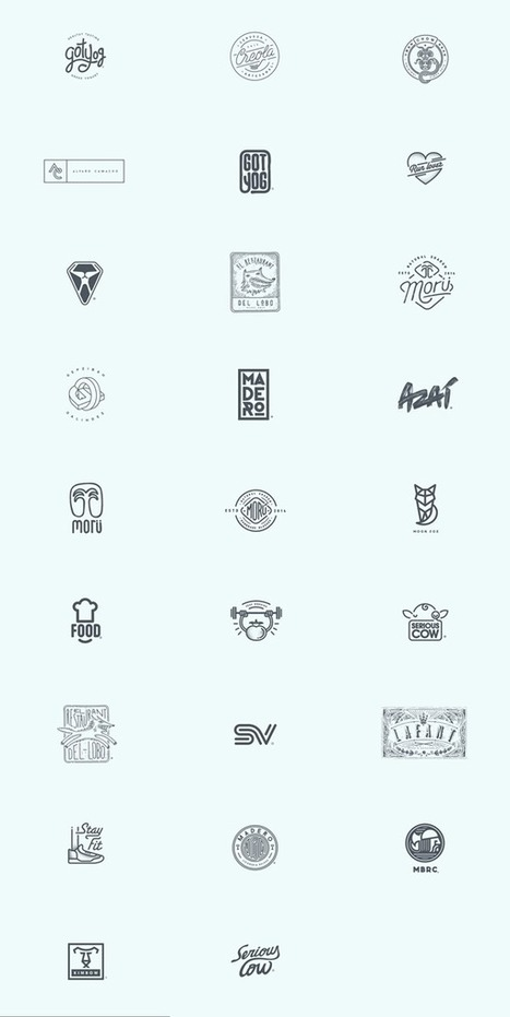 Logos by Oscar Bastidas | timms brand design | Scoop.it