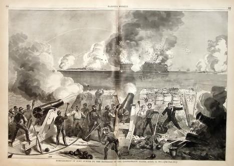 Google Image Result for http://www.charlestonbatterytour.com/attack-fort-sumter.jpg   Civil War Battles and Campaigns   Scoop.it