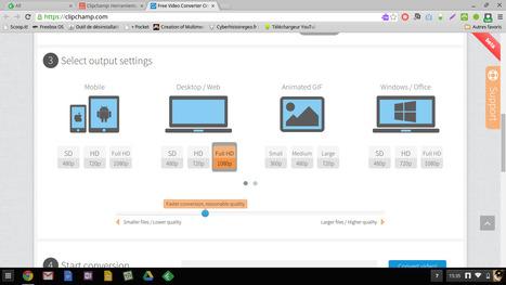 Clipchamp: un service génial pour convertir ses vidéos dans le navigateur | Time to Learn | Scoop.it