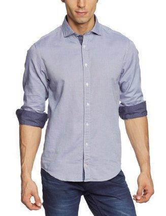%%%   Tommy Hilfiger Herren Freizeithemd Bryson Shirt NFW6 / 887834586, Gr. 52 (L), Blau (507 NIGHT SHADOW BLUE-PT)   Hemden Bekleidung   Scoop.it