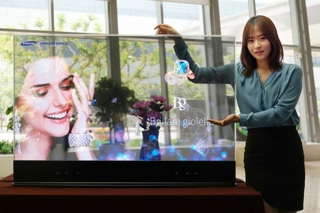 Samsung brings augmented reality to retail with new mirrored OLED displays | E-conso & Retail trends | Scoop.it