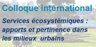 Colloque international sur les services écosystémiques à Tours | Initiatives et agenda environnement | Scoop.it