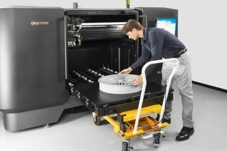 4300-pound Objet1000 3D printer is for the big jobs | Gadgets | Geek.com | it by bit | Scoop.it