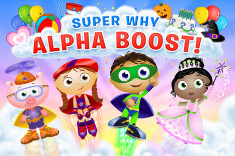 Super Why! Transmedia Suite is a Super Celebration! | Transmedia: Storytelling for the Digital Age | Scoop.it