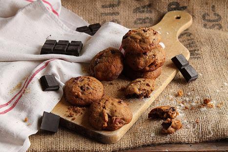 Cookies noix de pécan et chocolat   Couture, cuisine jardinage   Scoop.it