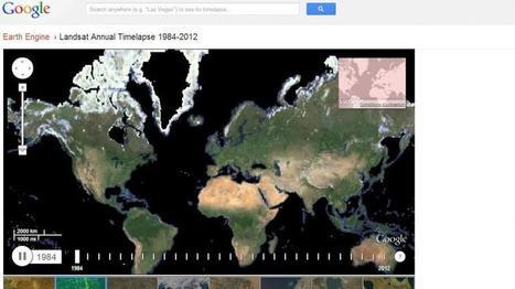 La Terre vue du ciel, de 1984 à nos jours | Social and digital network | Scoop.it