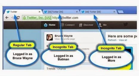 Multi-account Login : extension Chrome pour se connecter à plusieurs comptes à la fois | François MAGNAN  Formateur Consultant | Scoop.it