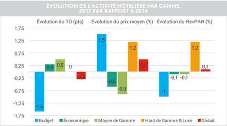 Hôtellerie : les établissements de province sauvent le secteur en 2015 | Veille Hébergements | Scoop.it