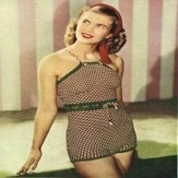 1940s Starlet Swimsuit, Swimming Costume Knitting Pattern>Knitting>Vintage swimwear | swimwear for real women | Scoop.it