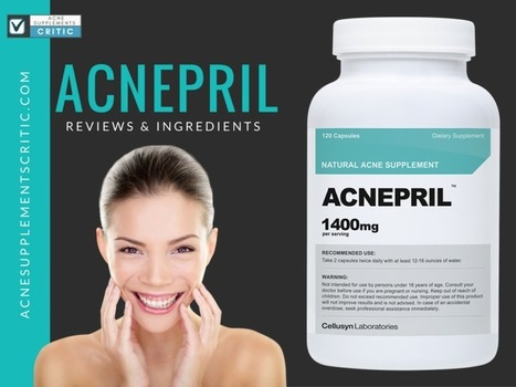 Acnepril Review and Ingredients- Does Acnepril Work?   Acne Supplements Critic   Natural OTC Hormonal Acne Treatment Remedies   Scoop.it