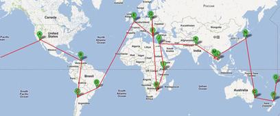 Sample RTW Itineraries | ticketsroundtheworld | Scoop.it