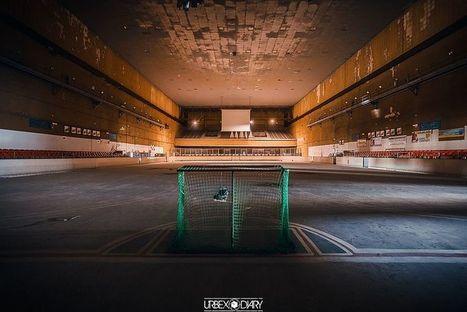 10 Abandoned Basketball Stadiums & Ice Hockey Rinks | Urban Decay Photography | Scoop.it