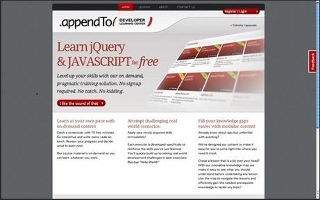 appendTo Developer Learning Center | Map your Learning | WebDeveloperInterestingThings | Scoop.it