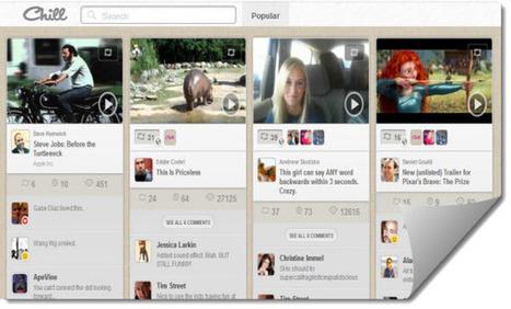 Chill desea convertirse en el Pinterest de los videos | Posts d'Educació i les TIC | Scoop.it