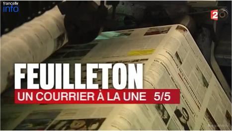 Le grand moment de la publication du Courrier cauchois   DocPresseESJ   Scoop.it