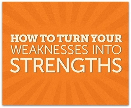 How to turn your weaknesses into strengths | Positive thinking | Scoop.it