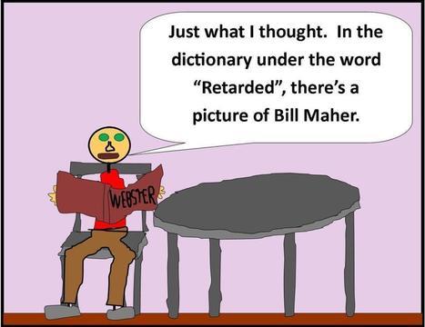 Sticky Tudaman On Bill Maher | Political Humor | Scoop.it