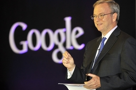 Google: Eric Schmidt va vendre pour 2,5 milliards de dollars d'actions | pressactu | Scoop.it