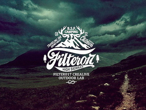 40 Vintage Logo Designs Inspired by the Great Outdoors | My English Website Mazen Khalifa | Scoop.it