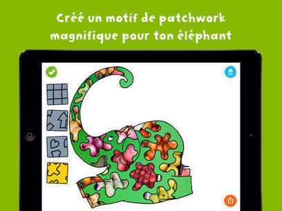Elmer – le Patchwork Photo : pour peindre avec le ciel (iPad, iPhone) | DeclicKids | -thécaires | Espace jeunesse | Scoop.it