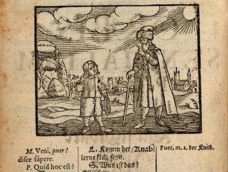 Orbis sensualium pictus : le plus ancien livre pour enfants présenté dans Citrouille ~ Citrouille + | Romans régionaux BD Polars Histoire | Scoop.it