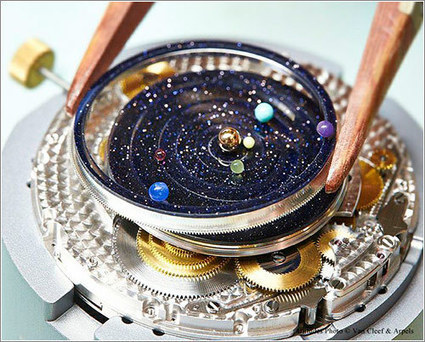 Un reloj de pulsera que es un planetario | Microsiervos (Gadgets) | TECNOLOGIAS A NIVEL MUNDIAL | Scoop.it