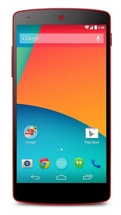 Nexus 5 rosso si mostra disponibile anche in Italia | Cellulari Dual Sim Tech News | Scoop.it