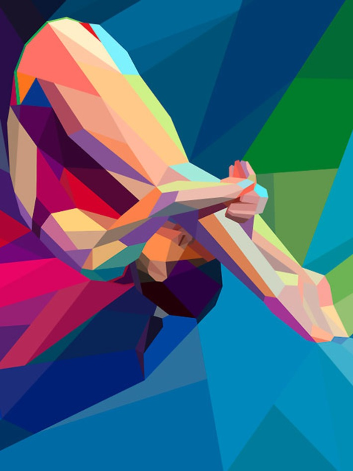 Colourful and Dynamic Olympic-themed illustrations by Charis Tsevis | Machinimania | Scoop.it