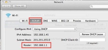 Find a Router IP Address in Mac OS X | All Things Mac | Scoop.it