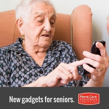 Greatcall Touch3 Smartphone for Elderly | Home Care Assistance of Denton County | Scoop.it