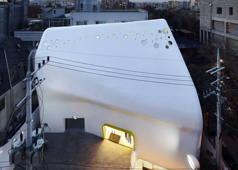 Paul Smith's Seoul store is covered by a concrete shell | Inspired By Design | Scoop.it