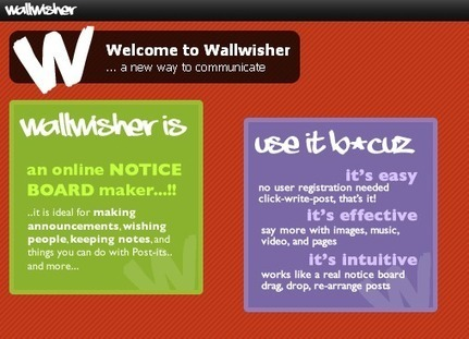 Build your own wall with Wallwisher - be creative | Create, Innovate & Evaluate in Higher Education | Scoop.it