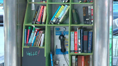 N.Y. Designer Puts Lending Libraries Into Pay Phone Kiosks | UID IxD Degree Project | Scoop.it